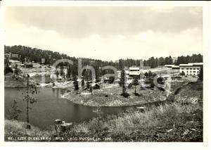 1953 LAGO MUCONE (CS) Veduta del Lago Mucone *Cartolina FG VG