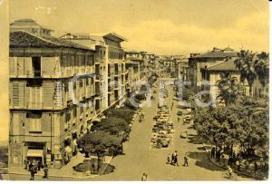 1952 COSENZA Veduta di Corso MAZZINI *Cartolina FG VG