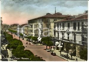 1954 COSENZA Veduta di Corso MAZZINI *Cartolina FG VG