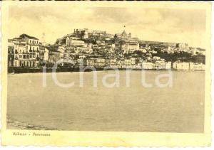 1939 MILAZZO (ME) Panorama della città dal mare *Cartolina postale FG VG