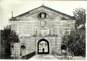 1960 ca SABBIONETA (MN) Porta Imperiale *Cartolina FG NV