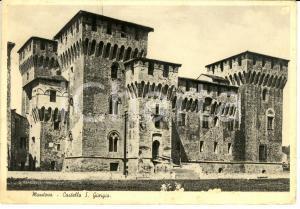 1937 MANTOVA Castello S. Giorgio *Cartolina FG VG