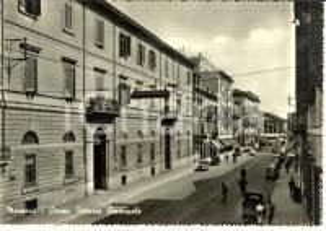 1955 MANTOVA Corso Vittorio Emanuele *Cartolina FG VG