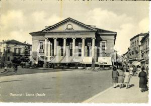 1960 ca MANTOVA Teatro Sociale *Cartolina FG VG
