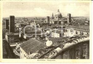 1951 MANTOVA Panorama della città *Cartolina FG VG