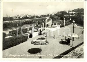 1954 CASTIGLIONE DELLO STIVIERE (MN) Lido Bagni e panorama *Cartolina FG VG