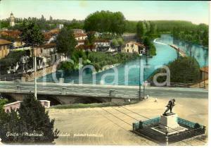 1959 GOITO (MN) Veduta panoramica della città *Cartolina FG VG