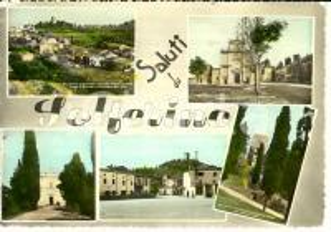 1959 SOLFERINO (MN) Vedutine della città *Cartolina FG VG