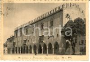 1941 MANTOVA Palazzo Ducale (XII E XIV sec.) *Cartolina FG VG