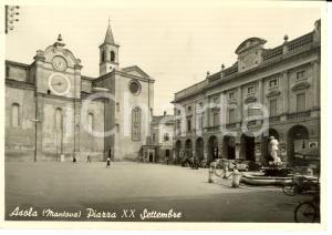 1977 ASOLA (MN) Piazza XX Settembre *Cartolina FG VG