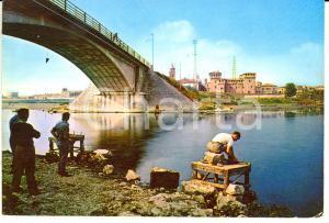 1959 MANTOVA Ponte S. Giorgio *Cartolina FG VG