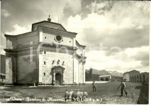 1960 ca VISSO (MC) Basilica di Macereto sec. XVI *Cartolina FG NV