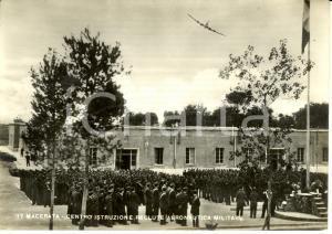 1959 MACERATA Centro Istruzione Reclute Aeronautica militare *ANIMATA con aereo