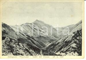 1950 ca BOLOGNOLA (MC) Valle del Farnio *Cartolina postale FG VG