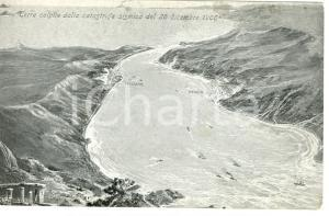 1910 ca MESSINA TERREMOTO Terre colpite dalla catastrofe del 1908 FP NV