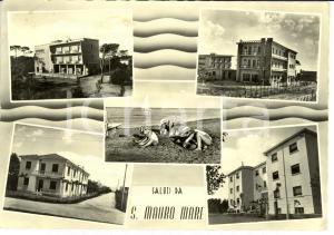 1959 SAN MAURO PASCOLI (FC) Frazione SAN MAURO MARE Vedutine con spiaggia *FG VG