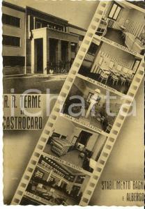 1941 CASTROCARO E TERRA DEL SOLE (FC) Vedutine stabilimento bagni e albergo *VG