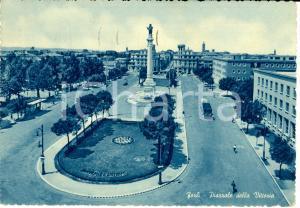 1952 FORLI' Veduta Piazzale della VITTORIA con monumento CADUTI *Cartolina FG VG