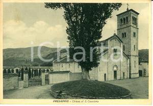 1940 PREDAPPIO (FC) Veduta della Chiesa di SAN CASSIANO *Cartolina FG VG