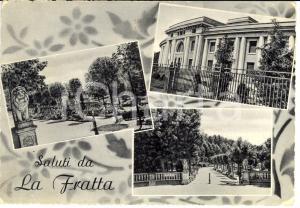 1956 BERTINORO (FC) Frazione FRATTA TERME Vedutine stabilimento TERMALE *FG VG