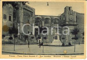 1941 TRICASE (LE) Piazza Vittorio Emanuele II con monumento a GIUSEPPE PISANELLI