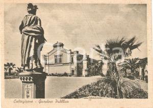 1945 ca CALTAGIRONE (CT) Giardino pubblico TEATRO POLITEAMA INGRASSIA *FG NV