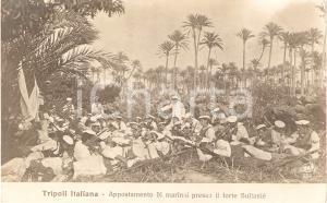 1925 ca TRIPOLI (LIBIA) Guerra ITALO-TURCA Marinai appostati a FORTE SULTANIE'