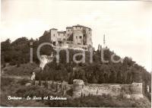 1950 ca BERTINORO (FC) Rocca del BARBAROSSA Panorama *Cartolina FG NV