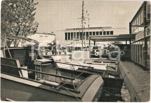 1954 BARI Fiera del LEVANTE Salone Profumi Insegna IGNIS Animata Cartolina FG VG