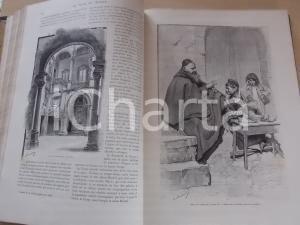 1894 LE TOUR DU MONDE Journal des voyages *ILLUSTRE' relié Ier semestre