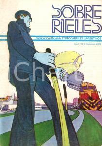 1978 ARGENTINA - SOBRE RIELES N.3 Publicaciòn oficial Ferrocarriles argentinos