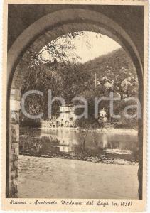 1956 SCANNO (AQ) Santuario MADONNA DEL LAGO Scorcio *Cartolina DANNEGGIATA FG VG