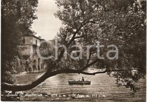 1963 SCANNO (AQ) Scorcio panoramico del lago ANIMATA *Cartolina FG VG