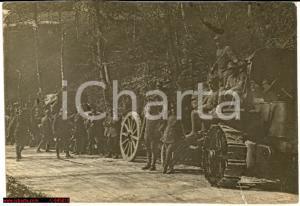 1917 WW1 Valli del Pasubio - colonna militare FOTO