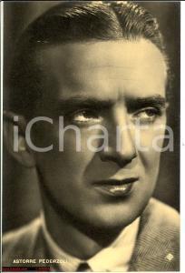 1940 ca Ritratto Astorre PEDERZOLI attore - Foto seriale