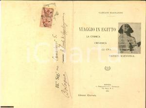 1909 Modena GAETANO MAGNANINI contro Facoltà di Scienze