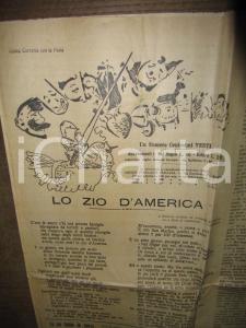 1923 MILANO GUERINO MESCHINO MUSSOLINI e la mummia