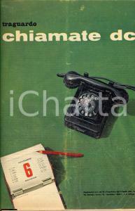 1960 ROMA Supplemento a TRAGUARDO Chiamate DC