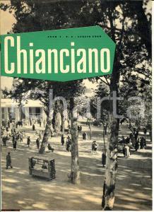 1960 CHIANCIANO (SI) Città dell'acqua santa  - Rivista