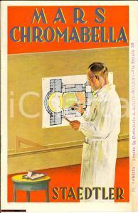 1940 ca MILANO Matite MARS CHROMABELLA opuscolo