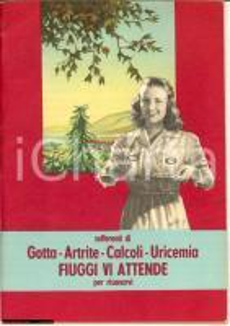 1952 FIUGGI (FR) Mirabile storia dell'acqua di Fiuggi