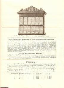 1927 ROMA Schedari anagrafici Aristide STADERINI