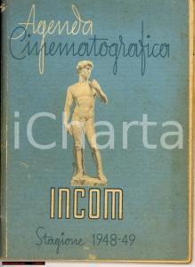 1949 GENOVA Agenda Cinematografica INCOM 1948-49