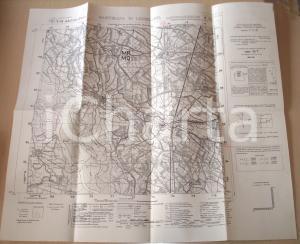 1950 ca SARTIRANA LOMELLINA (PV) Mappa 1922 territorio