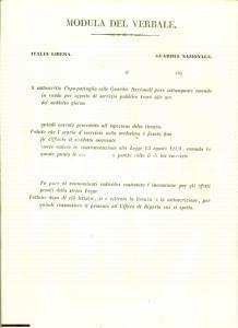 1848 circa ITALIA LIBERA Ronde della Guardia nazionale