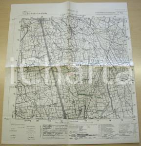 1950 ca BINASCO (PV) Mappa 1935 territorio di Binasco
