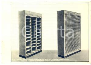 1938 PADOVA S. A. FAESITE Cartelliera a piani mobili *Volantino 23x16 cm