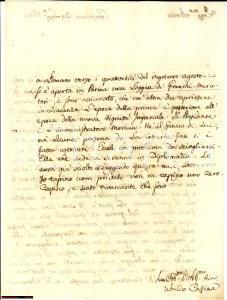 1804 COMPIANO PR Ubaldo CASSINA nuova Loggia Massonica