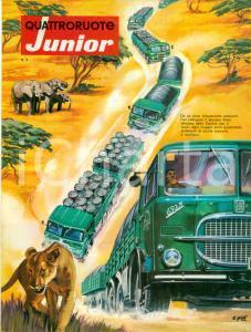 1967 QUATTRORUOTE JUNIOR Motori FIAT percorrono l'AFRICA Modellismo *Rivista
