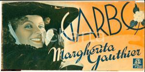 1937 Greta GARBO Margherita Gauthier Pieghevole cinema